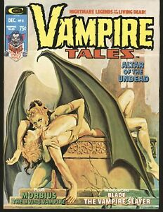 Vampire Tales # 8 - 1st solo Blade story VF+ Cond.