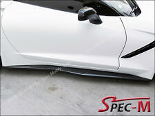 Z06 Z07 Style Carbon Fiber Rocker Panel Side Skirt For 14+ Corvette C7 Stingray