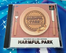 PlayStation Japanese Import Harmful Park SUPER RARE PSOne PSX Complete