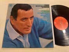 Tony Bennett The Movie Song Album LP Columbia 2 Eye Mono VG+!!!!