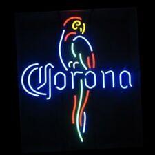 """17""""x14"""" Corona Parrot Beer Bar Handcraft Real Neon Light Sign"""