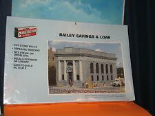 WALTHERS CORNERSTONE SERIES HO SCALE #933-3031 BAILEY SAVINGS AND LOAN