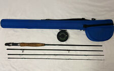 Scientific Anglers 4pc Fresh / Salt Fly Rod Reel Combo 9' 5/6wt W/ Case