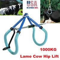 1000KG Cow Hip Lift Calving Milking Birthing Lame Cattle Easy Fast for Emergency