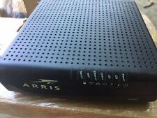 ARRIS DG860A 320 Mbps Cable Modem Router Combo ** NO CORDS WITH UNIT**