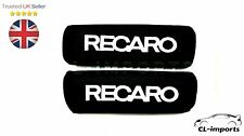 BLACK Recaro Pillow Headrest x 2, Honda Toyota Civic DC2 EP3 DC5 JDM (1 pair)
