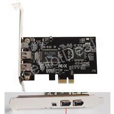 PCI Express x1 PCI-E FireWire 1394a IEEE1394 Controller Card