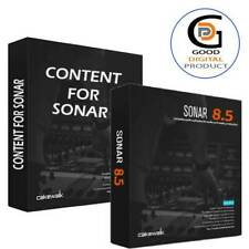 Cakewalk Sonar 8.5  +  Key  + 🔥 10GB Content 🔥 ✅ For WINDOWS ✅ Fast Delivery