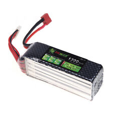Lion Power Lipo Battery 22.2V 1300Mah 30C-45C T Plug For Align TREX 450 450L US