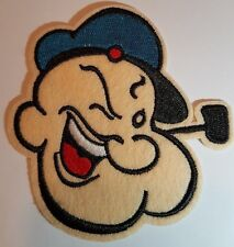 Popeye Face Iron On Patch Sew On transfer Patch Cartoon sailor