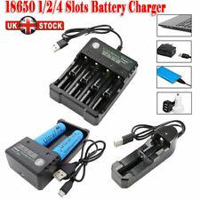 18650 Batería 5000mAh 3.7V Li-ion baterías recargables con USB cargador inteligente