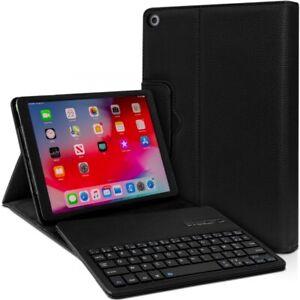 Étui Noir Clavier Azerty Bluetooth pour Apple iPad Mini 5 / Mini 4 7.9 pouces