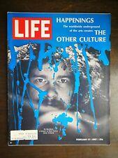 Life Magazine February 17, 1967 The Other Vulture Worldwide Underground of Arts