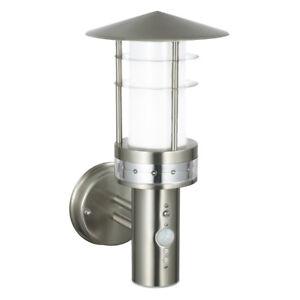 PAGODA Outdoor Wall Light - PIR Motion Sensor - Photocell LUX - Waterproof IP44