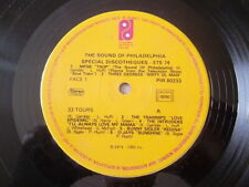 PHILADELPHIA SOUND - SPECIAL DISCOTHEQUE ETE 74 - 33 TOURS VINYL  ANNEE 1974
