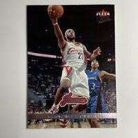 2007- 2008 Fleer Ultra- LEBRON JAMES - CAVALIERS #28 Basketball Card
