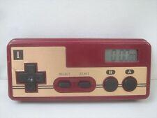 Famicom Manette Forme Alarme Horloge Montre Testé 1309