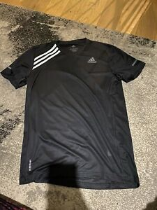 Mens Adidas Short Sleeved Run Top - Small