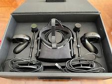 Oculus Rift CV1 Virtual Reality Headset with Controllers Sensors - Black