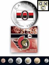 2007 Colorized Ottawa Senators NHL Hockey Coin Set (11995)