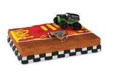 Monster Jam Full Throttle Truck cake decoration Decoset cake topper set