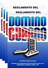 Reglamento del domino cubano. Oficial.