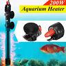 200W Submersible Aquarium Water Heater Fish Tank Auto Adjustable Temperature