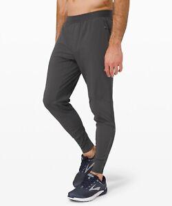 """🍋 Lululemon Surge Hybrid Pant 29"""" Graphite Grey Large 2021 Men's NWT"""