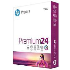 HP Paper Printer Paper 8.5x11 Premium 24 lb 1 Ream 500 Sheets 100 Bright Made...