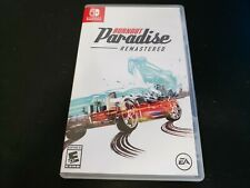 Burnout Paradise Remastered (Nintendo Switch) Complete CiB