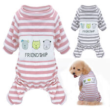 Cozy Dog Pajamas Clothes Jumpsuit Sleepwear for Small Medium Dogs Cats  Clothes 6b0e64477