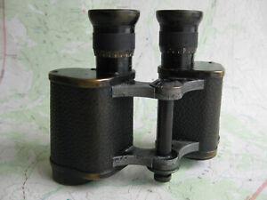 Vintage 1907 Zeiss binoculars Telact 8x24 (Ser. No. 122666)