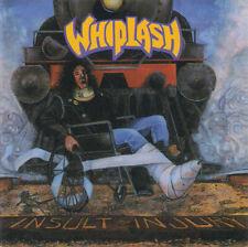 Whiplash – Insult To Injury ( CD, Album, Roadracer Records – RO 9482-2)