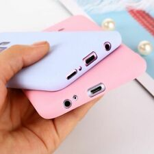 Cover Phone Case For Samsung Silicone Lite Simple Solid Soft Candy Color Matte T