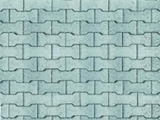 VOLLMER 46054 h0 Mur Plaque De Ciment-OS 10 Pièce