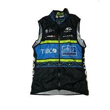 Women's 2019 Voler Team Tibco Pro Cycling Wind Vest, Black, Size XS EUC
