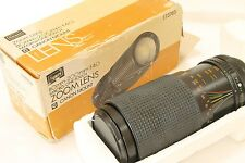 SEARS Multcoated  80-200mm f4 AUTO ZOOM for Canon, MINT  boxed