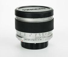 Re Auto Topcor 58mm 1:1.4 obiettivo fast lens Tokyo Kogagu Topcon Exakta mount