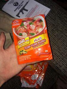Tom Yum Kung Powder 60g (Ros Dee Menu) Thai Food Hot & Sour Soup Spicy X10 USA