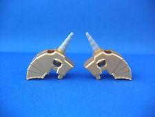 Lego 2 Décorations dorées pour chevaux Neufs /New Horse Battle Helmets REF 89524