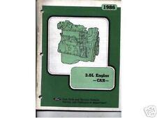 1986 Ford 3.0L car engine service bulletin
