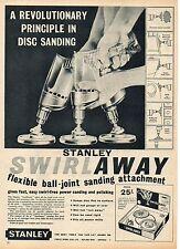 Stanley Swirlaway sanding tool-1960's magazine advert