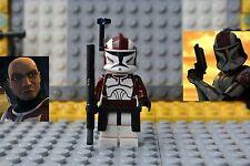 Lego Star Wars ~Clone Trooper Commander Stone ~  Custom