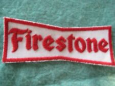 "Vintage Firestone Tires Drag Racing Patch 4 3/8"" X 1 5/8"""""
