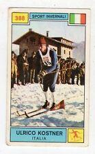 [FF1] FIGURINA PANINI CAMPIONI DELLO SPORT 1969/70 - 388 SCI KOSTNER