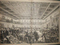 1868 Harper's Weekly House of Representatives Centerfold