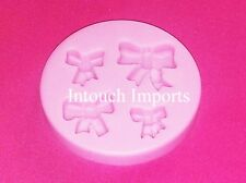 New Bow RibbonTie Silicone Mould Mold For Sugarcraft Fondant Cake Decorating