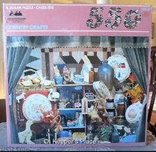 Vintage American Publishing Country Crafts 550 Piece Jigsaw Puzzle Sealed New