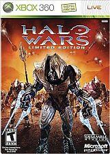 Halo Wars -- Limited Edition (Microsoft Xbox 360, 2009)