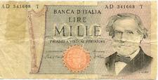 ITALIE ITALY ITALIA 1000 LIRE VERDI état voir scan 668